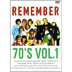 Remember the 70's, Vol. 1 [Region 2]