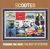 album art to Pushing the Beat: The Best of Scooter