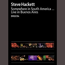 Steve Hackett: Somewhere in South America [Region 2]