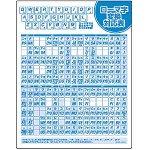 SANWA SUPPLY MPD-OP17RL3 マウスパッド(ローマ字、大)