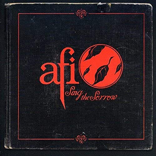 Sing the Sorrow by AFI album cover