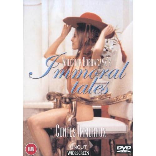 [ART] ���������� ������� / Contes immoraux / Immoral Tales (�������� �������� / Walerian Borowczyk) [1974 �., �������, �����, �������, DVDRip]