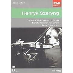 Henryk Szeryng: Brahms, Bartok, Ravel [Region 2]