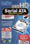 Logitec LHD-SA160HK Serial ATA対応160GB内蔵型HDD