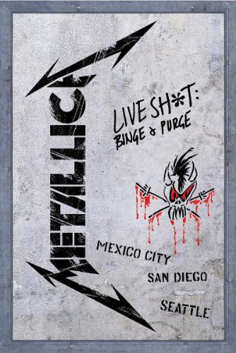 Metallica - Live Shit, Binge and Purge [3 CD + 2 DVD] - Zortam Music