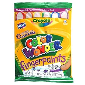 Color Wonders Fingerpaints