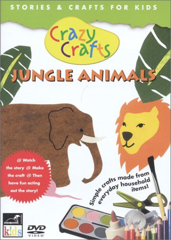 Crazy Crafts: Jungle Animals