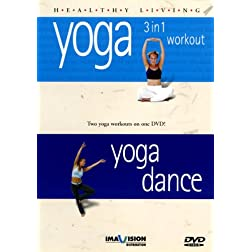 Healthy Living: Yoga 3-1/Yoga Dance