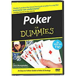 Trademark Poker for Dummies DVD With Chris Moneymaker Instructional (Multi)