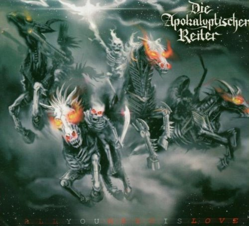 Die Apokalyptischen Reiter - All You Need Is Love - Zortam Music