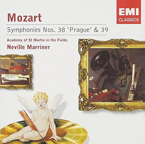 Mozart: Symphonies Nos. 38 and 39 (Academy of St. Martin in the Fields feat. conductor: Neville Marriner)