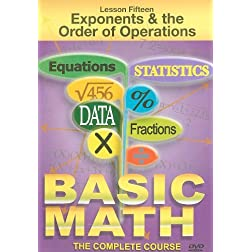 Exponents & The Order Operation