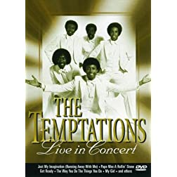 Temptations: Live in Concert at Harrah's Atlantic City