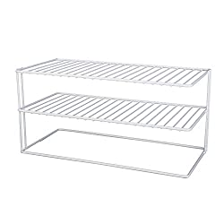 Cabinet Organizer - 2 Shelf - (White)