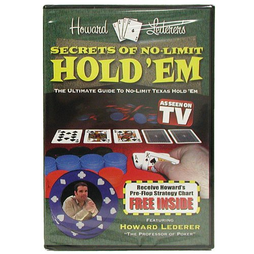 Trademark Poker DVD - Secrets Of No-limit Hold'em With Howard Lederer Instructional (Multi)