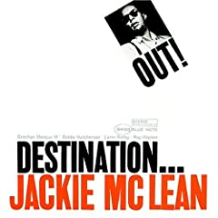 Jackie McLean Destination Out! cover