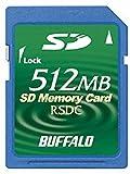 Buffalo RSDC-S512M SDメモリーカード スタンダードモデル