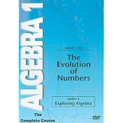 Evoluti of Numbers