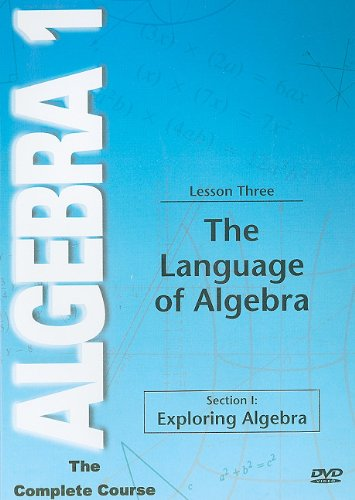 Language of Algebra