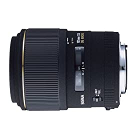 Sigma 105mm f/2.8 EX DG Medium Telephoto Macro Lens for Canon SLR Cameras