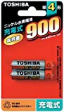 TOSHIBA ニッケル水素電池 2本パック TH-4K2P