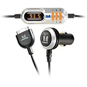 Amazon - Monster iCarPlay Plus iPod FM Transmitter/Charger - $44.99