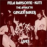 Album cover for Fela with Ginger Baker Live