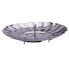 Progressive International 11 Inch Stainless Steel Steamer Basket