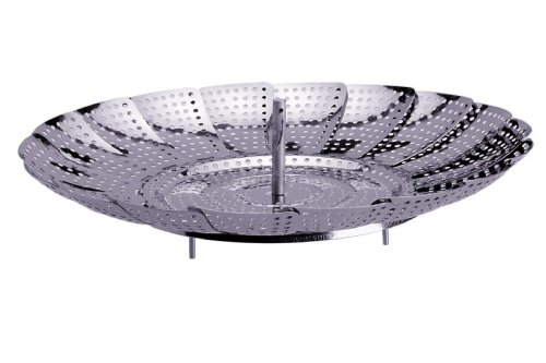 Progressive International 11 Inch Stainless Steel Steamer Basket