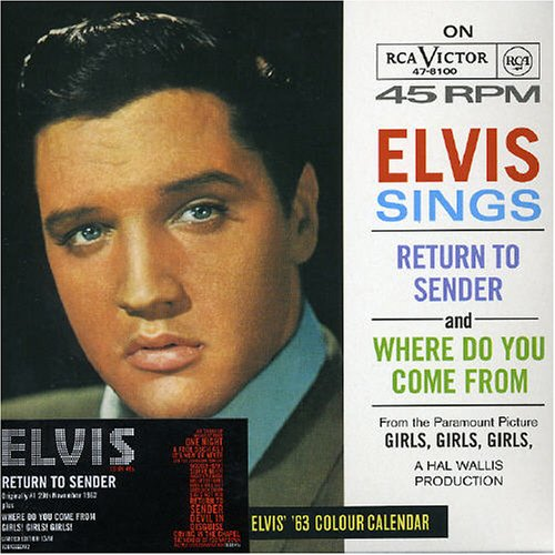 Elvis Presley - Return To Sender - Zortam Music