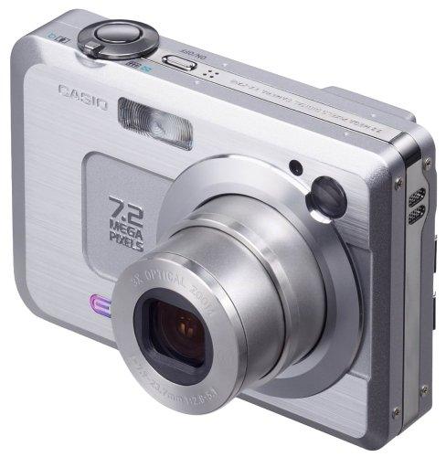 Casio Exilim EXZ750 7MP Digital Camera with 3x Optical Zoom