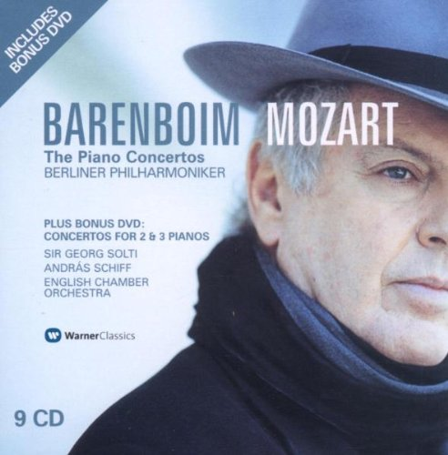 The Piano Concertos (Berliner Philharmoniker feat. conductor, piano: Daniel Barenboim)