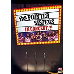 The Pointer Sisters In Concert!!!