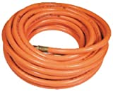 Amflo 576-50A 3/8 x 50' Orange PVC Hose 1/4 NPT fittings, 300 PSI