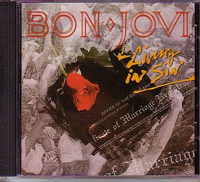 Bon Jovi - Living in Sin - Zortam Music