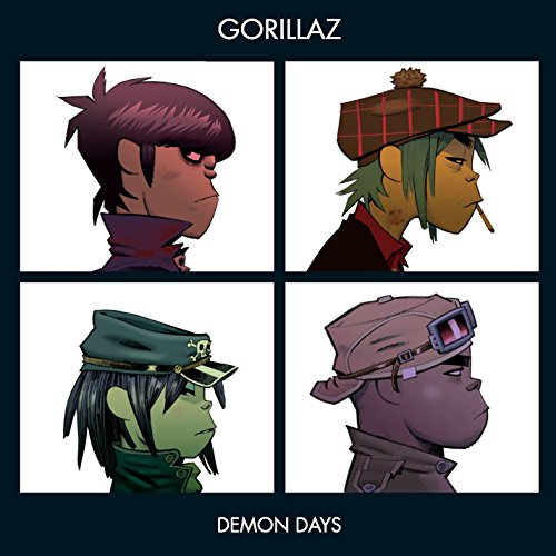 Demon Days by Gorillaz album cover