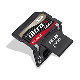 SanDisk Ultra II SD Plus with USB