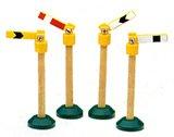 ラーニングカーブ きかんしゃトーマス 木製レールシリーズ 信号セット FC-93056