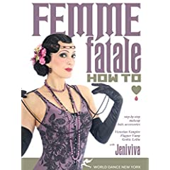 Femme Fatale: How To - Makeup, Hair, Accessories Step-by-step