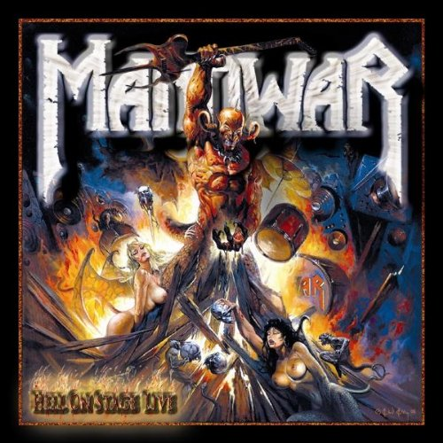 Manowar - Hell On Stage - LIVE (disc 1) - Zortam Music