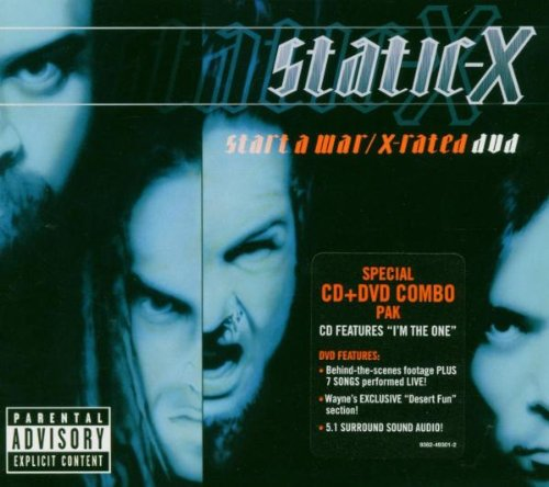 Static-X - Start a War/X-Rated - Zortam Music