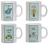 Monopoly Mugs - Set of 4 Utilities