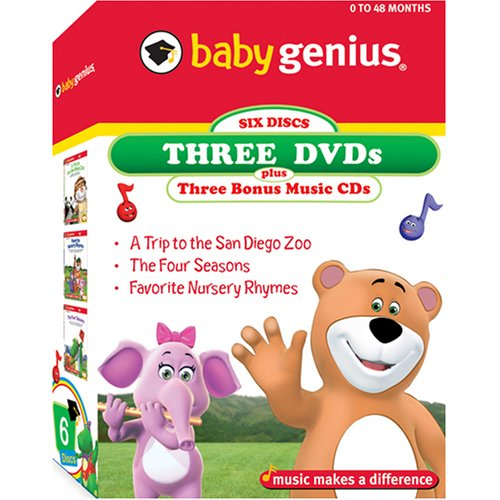 Baby Genius 3 Pack - Volume 1