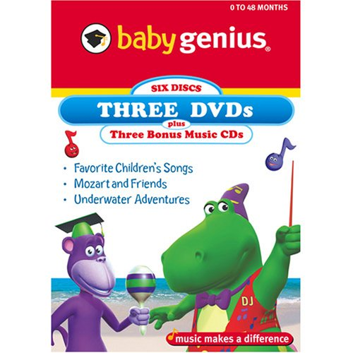 Baby Genius 3 Pack - Volume 2