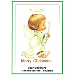 Bear Shooters:Widescreen TV: Christmas Card: Merry Christmas