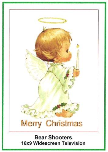 Bear Shooters:Widescreen TV: Christmas Card: Merry Christmas
