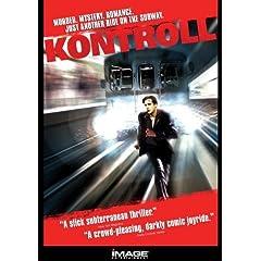 Kontroll DVD cover