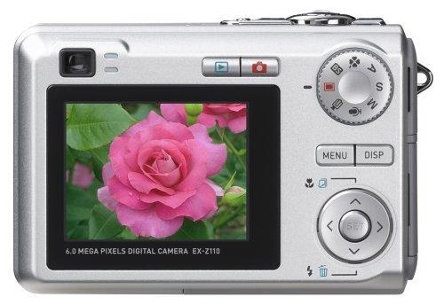 Casio Exilim EX-Z110 6MP Digital Camera with 3x Optical Zoom