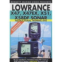 Lowrance X47, X47EX, X51, X58DF Sonar