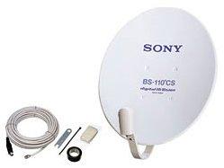SONY デジタルハイビジョン対応BS・110度CSアンテナ SAN-40BK1